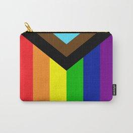 LGBTQ+ Pride Flag Inclusive (LGBTQ+ Pride, Gay Pride) Carry-All Pouch