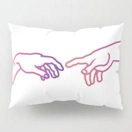 The Creation of Adam (Italian: Creazione di Adamo). Pillow Sham
