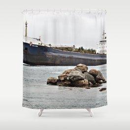 Tim Dool Freighter Shower Curtain