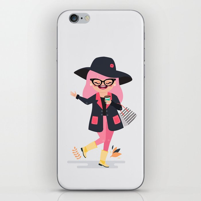 Rosy in Montreal iPhone Skin
