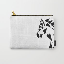 Heart Horse Carry-All Pouch