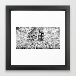Cool Spring Night Framed Art Print