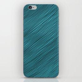 Stripes - turchese iPhone Skin
