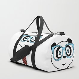Panda Nerd Duffle Bag