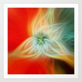 Energy Blossom Kunstdrucke