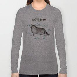 Anatomy of a Maine Coon Langarmshirt