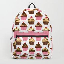 Cupcake Love Pattern Backpack