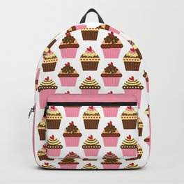 Cupcake Love Pattern Backpack