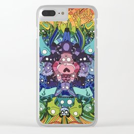 Life, unexpected Clear iPhone Case