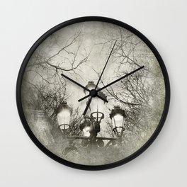 Vintage Lantern Wall Clock