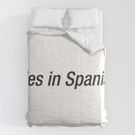 Cries In Spanish Comforters