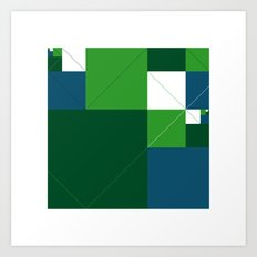 #542 Acres – Geometry Daily Art Print