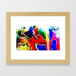 Spontaneous adventure Framed Art Print