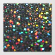 Sparkles: Paint Daubs Canvas Print