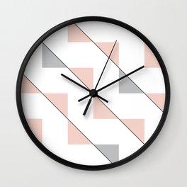 Twisting Triangles 01 Wall Clock