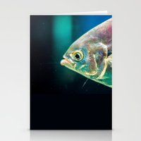 swim Stationery Cards featuring Swim by Iain Christopher Mclellan Bastidas