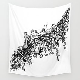 Musical Growth Wall Tapestry