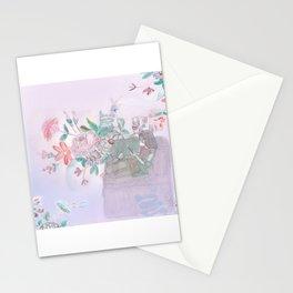 Mauve modus operandi Stationery Cards