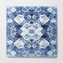 Blue Silk Tie-Dye by ninamay