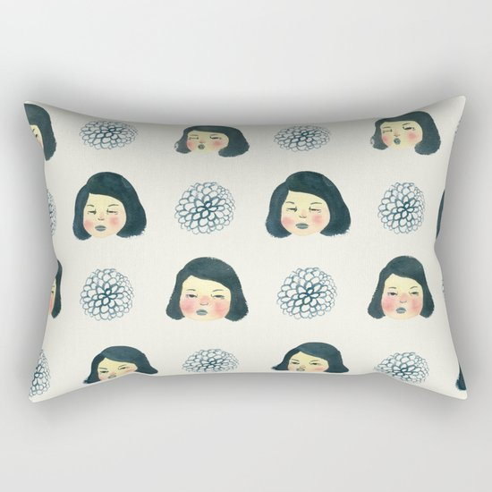 Girly : 소녀감성 Rectangular Pillow