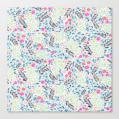 Teeny Tiny Floral Canvas Print