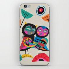 Owls hugging iPhone & iPod Skin