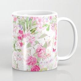 Vintage & Shabby Chic - Pastel Spring Flower Medow Coffee Mug
