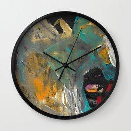 Cave Dweller Wall Clock