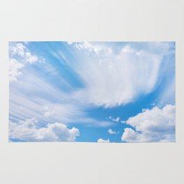 Beautiful blue skies Rug