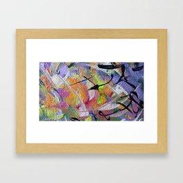 Record [detail] Framed Art Print
