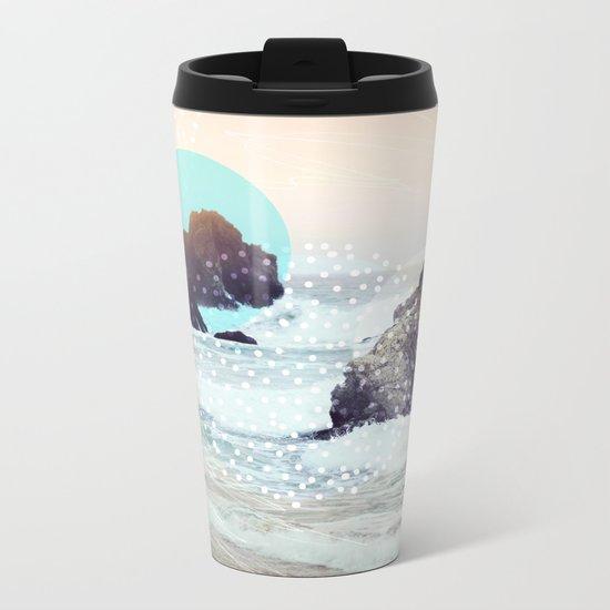 Sunset Metal Travel Mug