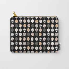 BUNNIES ((black)) Carry-All Pouch