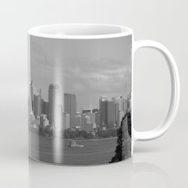 Black and White Sydney   New South Wales Coffee Mug