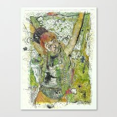 Crucifiction  Canvas Print
