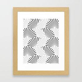 Minimalistic Pattern Framed Art Print