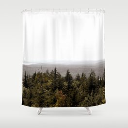 Acadia Views Shower Curtain