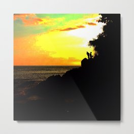Sunset Chasers Metal Print