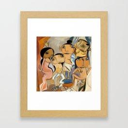 Les Demoiselles d'Avignon Framed Art Print