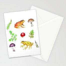 Ranitas, hongos y helechos Stationery Cards
