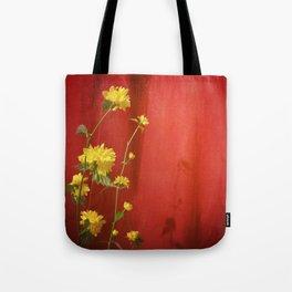 grandma's japanese rose Tote Bag