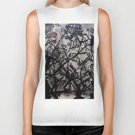 Into the Thorns Biker Tank