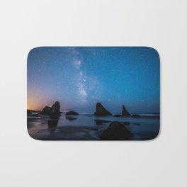 USA Stars Bandon Beach, Oregon beaches Sea Crag Nature Sky Sunrises and sunsets Water Horizon Beach Rock Cliff sunrise and sunset Bath Mat
