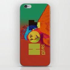 Hot Girl Hot Queen iPhone & iPod Skin