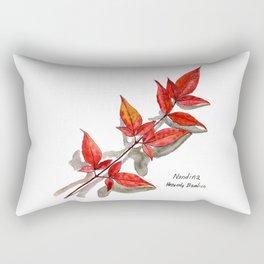 Nandina - Heavenly Bamboo Rectangular Pillow