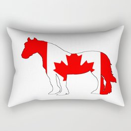 "Horse ""Canada"" Rectangular Pillow"