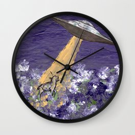 Abduction of the Delighted Lamb Wall Clock