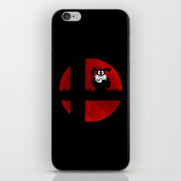 Smash and Laugh (red) iPhone Skin