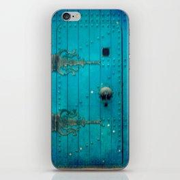 Blue Door iPhone Skin