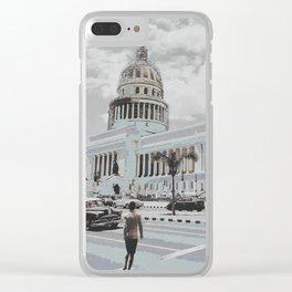 Streets of Havana Clear iPhone Case