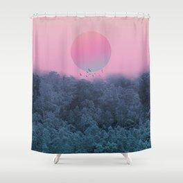 Landscape & gradients IV Shower Curtain